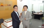 Lawyer Nguyen Thanh Ha had a meeting with Doctor Toshihiko Aikawa