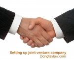 Setting up joint venture company