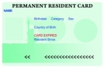 Temporary residence card procedure for foreigners