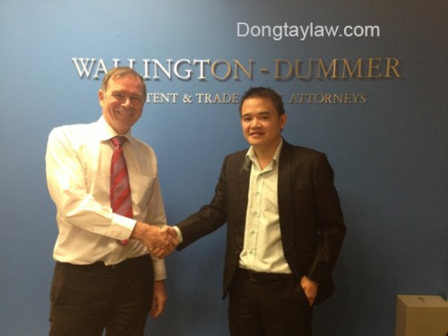 Lawyer Pham Duy Khuong & Wallington-Dummer law firm Representative