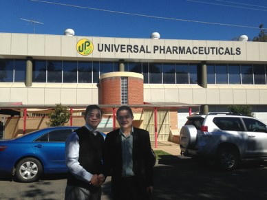 Mr. Pham Duy Khuong & Univeral Pharmaceuticals Representative